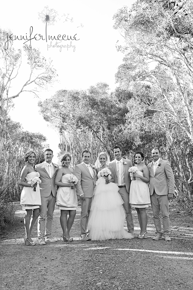 bridal party on rd