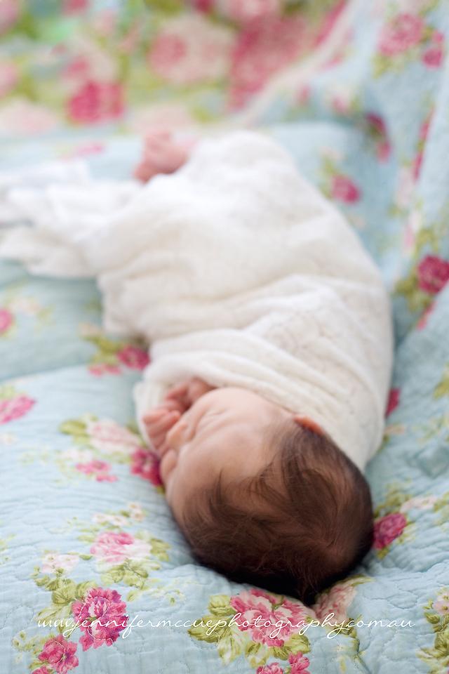 newborn hair